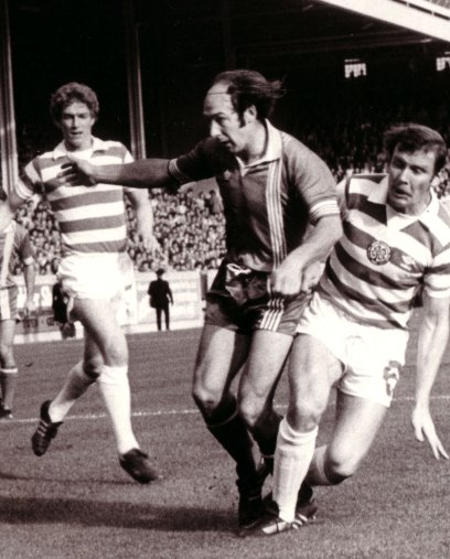 Drew Jarvie in Action against Celtic at Pittodrie
